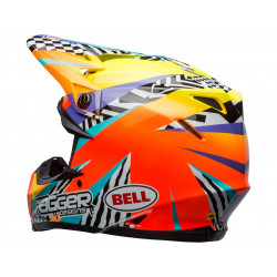 Casque BELL Moto-9 Mips Tagger Breakout Orange/Yellow taille M