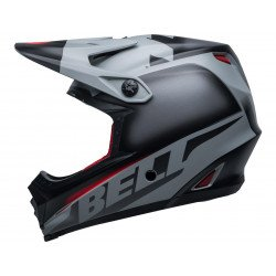 Casque BELL Moto-9 Youth Mips Glory Black/Gray/Crimson taille YS/YM
