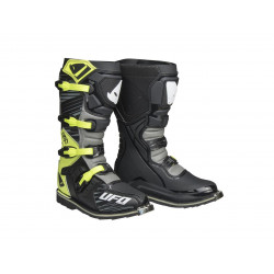 Bottes UFO Obsidian gris/jaune fluo taille 39
