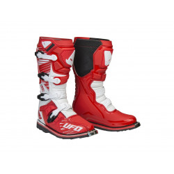 Bottes UFO Obsidian rouge/blanc taille 42
