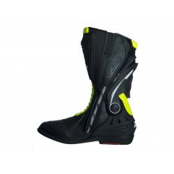 Bottes RST TracTech Evo 3 CE cuir jaune fluo 42 homme