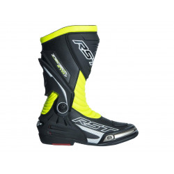 Bottes RST TracTech Evo 3 CE cuir jaune fluo 41 homme