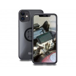 Pack complet SP-CONNECT Moto Bundle fixé sur guidon iPhone 11