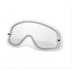 Ecran double ventilé de rechange OAKLEY Crowbar Enduro transparent