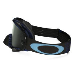 Masque OAKLEY Crowbar MX Distress Tagline Blue écran Dark Grey