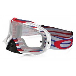 Masque OAKLEY Crowbar MX Nemesis RWB écran transparent