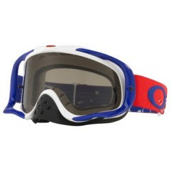 Masque OAKLEY Crowbar MX Checked Finish écran Dark Grey