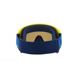 Masque OAKLEY O Frame MX Yellow/Navy écran Black Ice Iridium