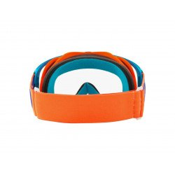 Masque OAKLEY Crowbar MX Flo Orange/Blue écran transparent