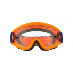 Masque OAKLEY L Frame MX Flo Orange/Blue écran transparent