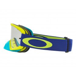 Masque OAKLEY O Frame 2.0 MX Lime Blue écran transparent