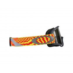 Masque OAKLEY XS O Frame MX Wind Tunnel RYO écran Dark Grey
