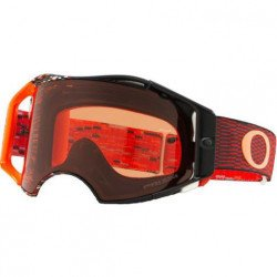 Masque OAKLEY Airbrake MX Equalizer Red/Orange écran Prizm MX Bronze