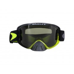 Masque OAKLEY O Frame 2.0 MX Sand Frenquency Gunmetal Green écran Dark Grey + transparent