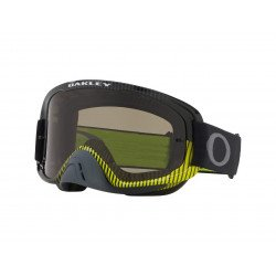 Masque OAKLEY O Frame 2.0 MX Frenquency Gunmetal Green écran Dark Grey + transparent