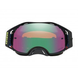 Masque OAKLEY Airbrake MX Eli Tomac Signature Series Camo Army Blues écran Prizm MX Jade Iridium