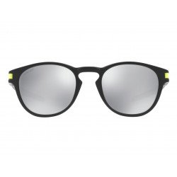 Lunettes de soleil OAKLEY Latch Valentino Rossi Signature Series Matte Black verres Chrome Iridium