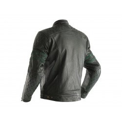 Veste cuir RST Hillberry CE vert taille XL homme