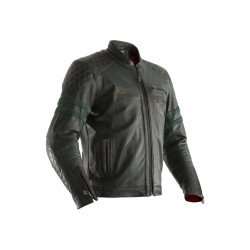 Veste cuir RST Hillberry CE vert taille S homme