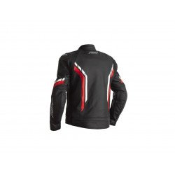 Blouson RST Axis CE cuir rouge taille L homme