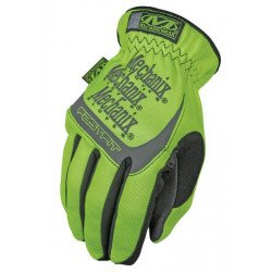 Gants MECHANIX Safety Fast Fit jaune fluo taille L