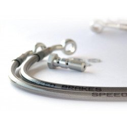 Durite Aviation SPEEDBRAKES inox/raccord argent