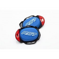 Slider genou RST Factory Reverse Velcro bleu
