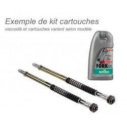 Kit cartouches de fourche BITUBO + huile de fourche MOTOREX Kawasaki ZX6RR