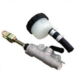 Maître-cylindre de frein arrière quad Ø12 argent Nissin