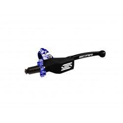 Levier repliable + cocotte universel SCAR noir - molette bleu