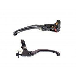 Kit levier repliable/reglable LIGHTECH magnesium Kawasaki Z650/Z900