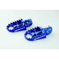 Repose-pieds SCAR Evo bleu KTM/Husqvarna