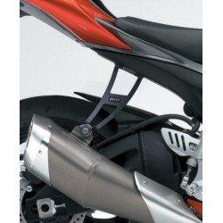 Patte de fixation de silencieux R&G RACING noir Suzuki GSX-R600/750