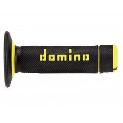 Revêtements DOMINO A020 Bicolore MX semi-gaufré noir/jaune