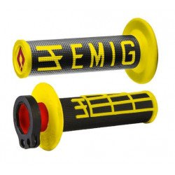 Revêtements ODI Emig V2 Lock-On jaune/noir