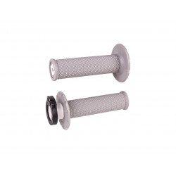 Revêtements ODI MX V2 Lock-On non-gaufré gris clair