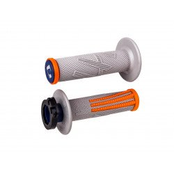 Revêtements ODI Emig Pro V2 Lock-On gris/orange
