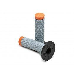 Revêtements PRO TAPER MX Pillow Top noir/gris/orange