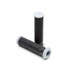Revêtements PRO TAPER Quad Dual Density full grip noir/gris