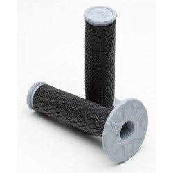Revêtements PRO TAPER MX Dual Density Full Diamond gris/noir/gris