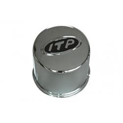 Cabochon de jante ITP chrome pour jantes 12C/14C 4x110/115