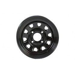 Jante utilitaire ITP acier noir 12x7 4x137 2+5