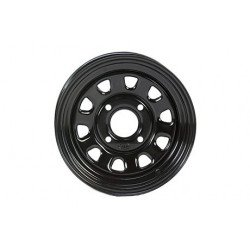 Jante utilitaire ITP acier noir 12x7 4x110 2+5