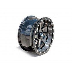 Jante utilitaire MSA WHEELS M21 Lok aluminium argent/noir 15X7 4X156 4+3