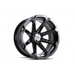 Jante utilitaire MSA WHEELS M12 Diesel aluminium noir 15x7 4x156 4+3