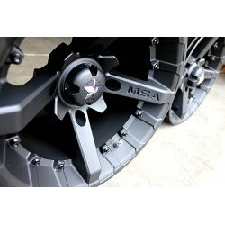 Jante utilitaire MSA WHEELS M23 Flat noir aluminium noir mat 14X7 4X137 4+3