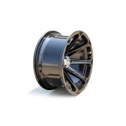Jante utilitaire MSA WHEELS M12 Diesel aluminium noir 15x7 4X137 4+3