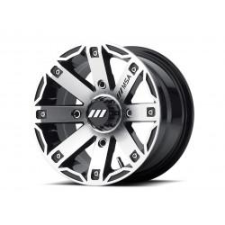 Jante utilitaire MSA WHEELS M27 Rage aluminium noir 12x7 4x110 4+3
