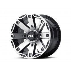Jante utilitaire MSA WHEELS M27 Rage aluminium noir 14x7 4x110 4+3
