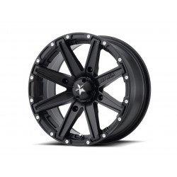 Jante utilitaire MSA WHEELS M33 Clutch aluminium noir 12x7 4x110 4+3
